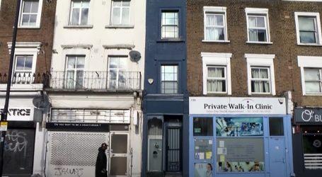 'Najtanja' kuća u zapadnom dijelu Londona se prodaje za milijun eura