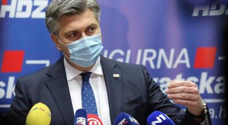 Plenković: Europarlamentarci su ilegalno prelazili granicu. Poduzetnici ne trebaju pozivati na neposluh