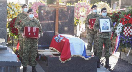 Na zagrebačkom Mirogoju pokopan Miroslav Tuđman