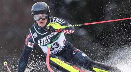 SP alpsko skijanje: Rodeš na 14. mjestu u slalomu, Vidović 16., vodi Pertl