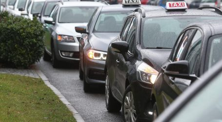 """Zagrebački taksisti: """"Ovo je samo prosvjed upozorenja, ali spremni smo i za radikalnije akcije"""""""
