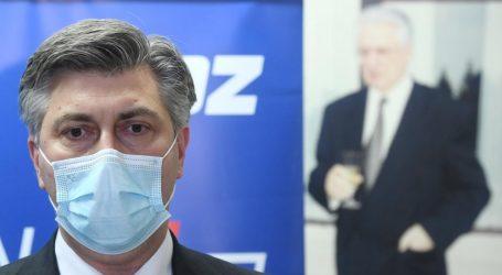 """Plenković: """"Nagradit ćemo sugrađane za strpljenje"""""""