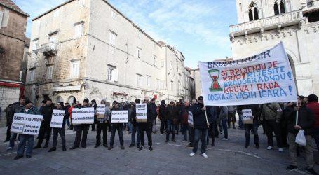Škverani Brodotrogira u subotu će prosvjedom tražiti plaće