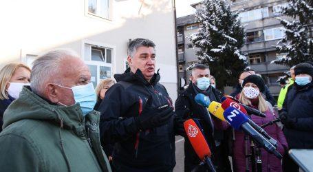 """Milanović: """"Ljudi su i u kontejnerima bez sanitarnih čvorova"""""""