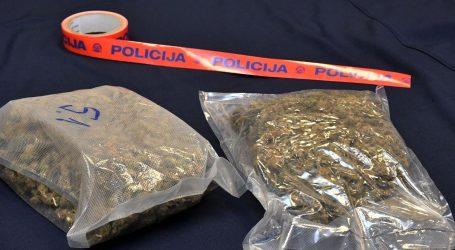 Policija kod mladića u Splitu pronašla više od pola kilograma marihuane i hašiša
