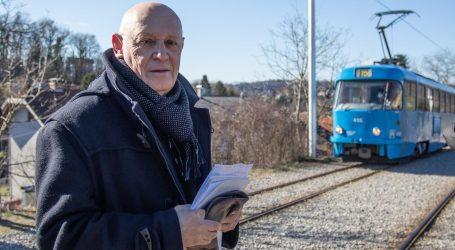 Vlasnik zemljišta u Zagrebu blokirao tramvajsku prugu. Promet je bio zaustavljen, pogledajte video
