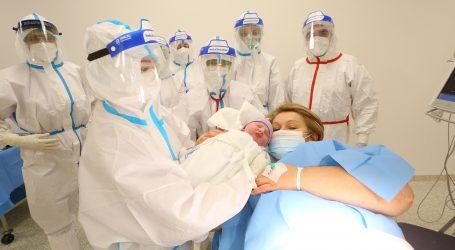 Stopa zaraze covidom među trudnicama viša nego u ostalih odraslih osoba