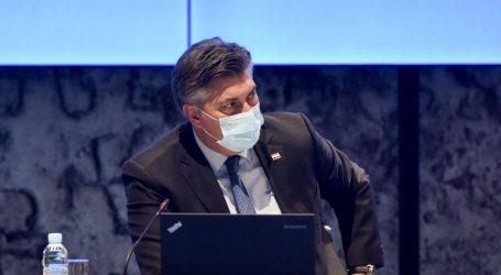 Premijer Plenković najavio otvaranje terasa i popuštanje mjera u sportu
