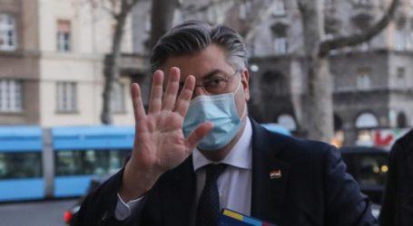 """Plenković: """"Ako netko ima 'track record' reakcija na napade na slabije, to smo moja Vlada i ja"""""""