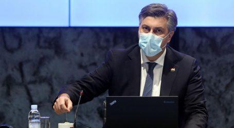 """Plenković: """"Signal popuštanja, ali uz veliku dozu opreza"""""""