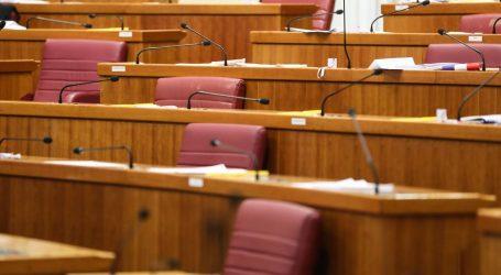 Sabor u petak glasa o osam točaka, među njima i izmjena Zakona o obnovi