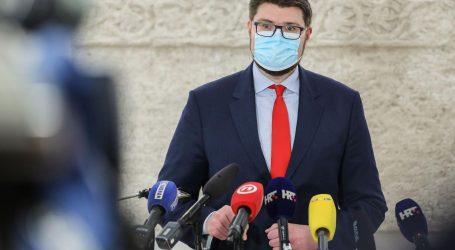 """Predsjednik SDP-a Grbin prozvao vladajuće: """"Dogodilo se nasilje nad oporbom"""""""