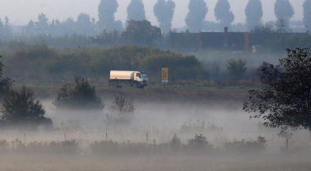Magla smanjuje vidljivost u Slavoniji, ptomet bez posebnih ograničenja