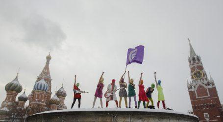Ponovno uhićena članica skupine Pussy Riot tijekom prosvjeda protiv Putina