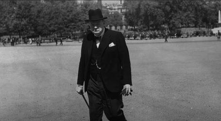 Raritetna slika Winstona Churchilla na dražbi