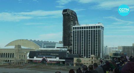 Atlantic City: Trumpova kockarnica srušena kontroliranom eksplozijom