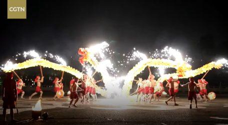 Ples vatrenog zmaja je novogodišnja tradicija i zaštićena baština Kine