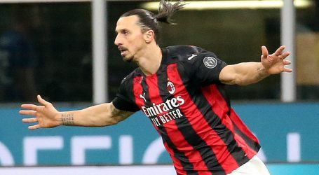 Milan se vratio na čelo Serie A, Zlatan Ibrahimović i Ante Rebić dvostruki strijelci