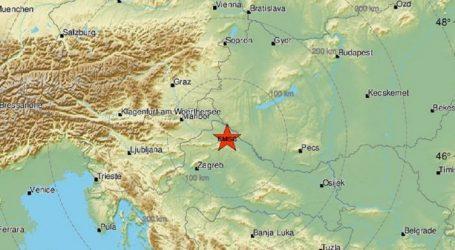 Potres kod Ludbrega jačine 2,7 Richtera