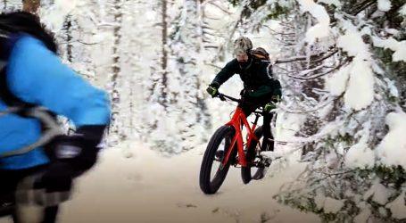 Fat bike iznimno popularan među ekstremnim sportašima ove zime