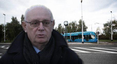 EKSKLUZIVNA SNIMKA: Zaštitari na okretištu tramvaja Prečko prekinuli intervju s vlasnikom zemljišta