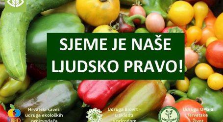 INICIJATIVA Sjeme je naše ljudsko pravo: Novi zakonski nacrt o sjemenu je loš, udara na male OPG-ove i cijenu hrane