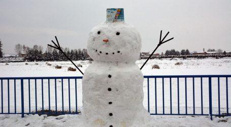 Mještani poljskog Korycina osmislili natjecanje u izradi snjegovića