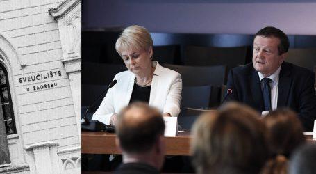 Neslaganje s Borasovim odlukama: Prorektorica zagrebačkog Sveučilišta Mirjana Hruškar podnijela neopozivu ostavku