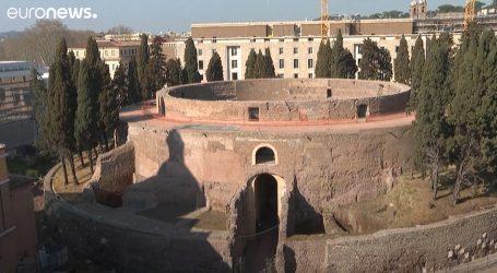 Veliki interes za posjet i razgledavanje obnovljenog Augustovogmauzoleja u Rimu