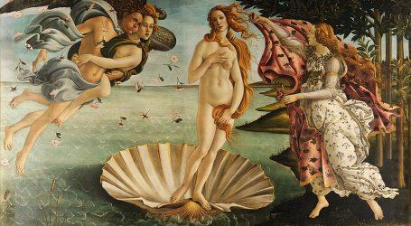 Botticellijeva Venera je remek-djelo renesanse