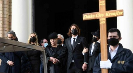 Na Mirogoju pokopan Zlatko Kranjčar, na sprovod došlo tisuće Zagrepčana i brojni poznati iz svijeta sporta