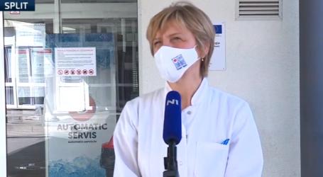 """Pomoćna ravnateljica KBC-a Split: """"Trenutno je dosta mlađih osoba na respiratoru"""""""