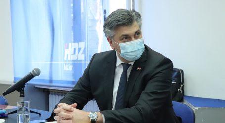 """Plenković: """"Nema promjene izborne strategije HDZ-a za Zagreb"""""""