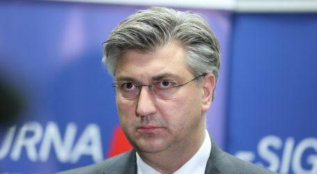 """Plenković: """"Oko Vrhovnog suda možemo se konzultirati s predsjednikom"""""""