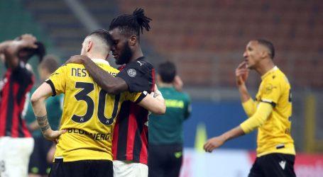Serie A: Milan do boda protiv Udinesea tek u sudačkoj nadoknadi, iz penala
