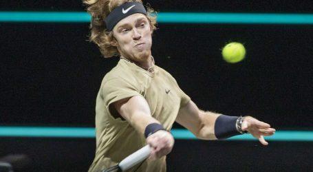 ATP turnir u Rotterdamu: Ruski tenisač Andrej Rubljov ide u polufinale