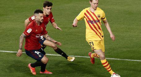 Nogometaši Barcelone slavili su na gostujućem terenu protiv Osasunes2-0