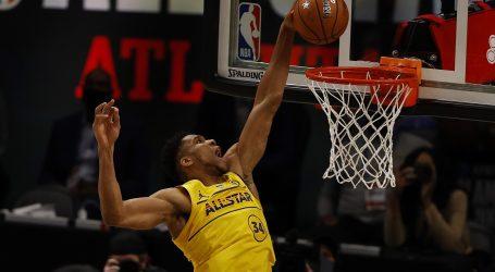 NBA All Star: Pobjeda LeBronove momčadi, Antetokounmpo MVP