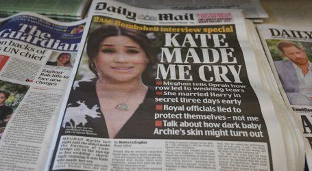Nakon intervjua s Oprah, pala popularnost Harryja i Meghan u Britaniji