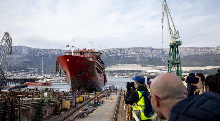 U Brodosplitu porinut brod za polarna krstarenja vrijedan 50 milijuna eura