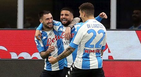 Serie A: Napoli srušio Milan, Ante Rebić 'pocrvenio' u sudačkoj nadoknadi
