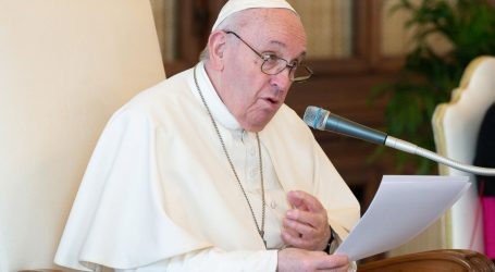 """Papa pozvao na borbu protiv organiziranog kriminala: """"Mafija iskorištava pandemiju"""""""