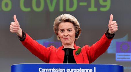"""Von der Leyen: """"Još stignemo ispuniti cilj i cijepiti 70 posto Europljana do kraja ljeta"""""""