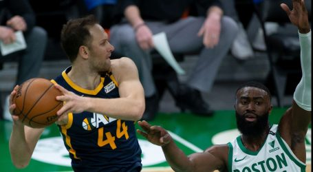 NBA: Bogdanović zabio 18 koševa za pobjedu Utaha, Zubac bolji od Šamanića