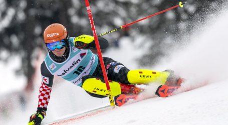 Svjetski kup u Lenzerheideu: U prvoj vožnji Zubčić zauzeo 12. mjesto u slalomu
