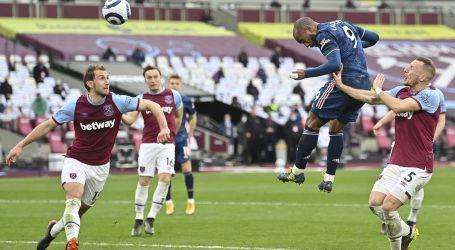 Premierliga: West Ham je vodio 3:0, Arsenal uspio izvući remi