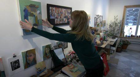 Kanadska slikarica inspiraciju za svoja djela pronašla u video pozivima