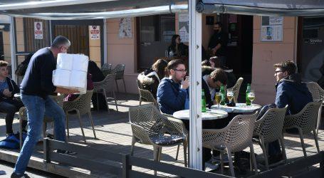 Slovenija otvara terase, ali samo u dvije od 12 regija i to uz posebne mjere