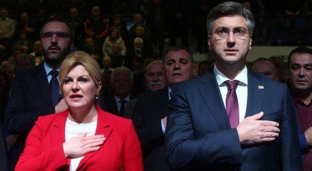 """Grabar-Kitarović """"odbija"""" Nacionalova otkrića, Plenković kaže da """"odgovara za svoje vrijeme"""""""