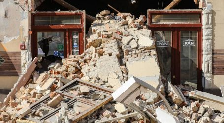 Novi potres kod Petrinje, magnituda je 3.1 po Richteru